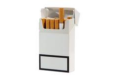 Пакет сигареты стоковые фотографии rf