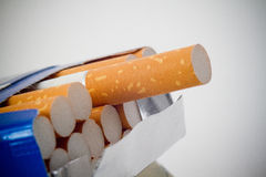 Пакет сигарет Стоковая Фотография