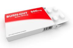 Пакет таблеток прогара Стоковая Фотография RF