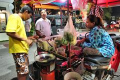 Пакет улицы food стоковое фото rf