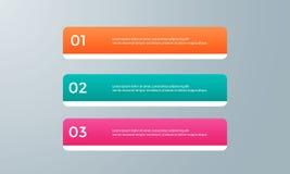 Пакет шаблона Infographic установленный для представлений дела Стоковое Изображение RF