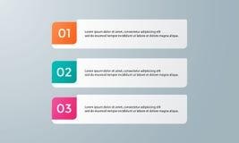 Пакет шаблона Infographic установленный для представлений дела Стоковые Изображения