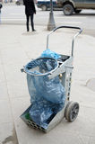 Пакет для сбора мусора Стоковое фото RF
