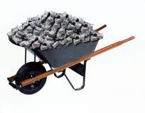 пакет handcart долларов количества преогромный Стоковые Изображения