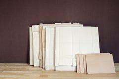 Пакет mackle коробки Стоковые Изображения RF