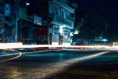 Пакистанская улица Стоковая Фотография RF