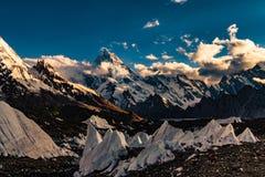 Пакистан Karakoram K2 trekking стоковое фото