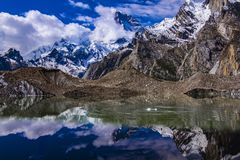 Пакистан Karakoram K2 trekking стоковая фотография