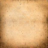 Пакостная абстрактная предпосылка старой бумаги Стоковые Фото