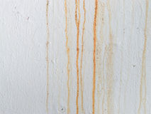 Пакостная белая стена Стоковая Фотография