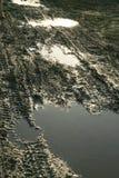 пакостная дорога грязи стоковое фото rf