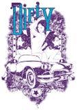 Пакостная девушка Стоковое Изображение RF