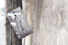 Пакостная деревянная доска Стоковые Изображения