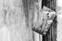 Пакостная деревянная доска Стоковое Изображение RF