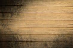 Пакостная деревянная предпосылка стены Стоковое Изображение