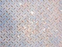 Пакостная железная текстура плиты Стоковая Фотография