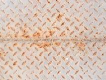 Пакостная железная текстура плиты Стоковые Изображения RF