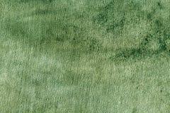 Пакостная зеленая текстура ветоши ткани Стоковое Изображение RF