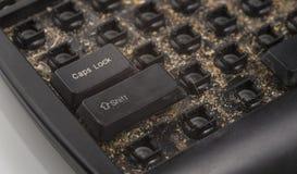 пакостная клавиатура Стоковые Фотографии RF