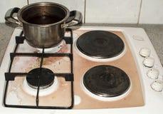 пакостная печка Стоковое Изображение