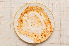 пакостная плита Стоковые Фото