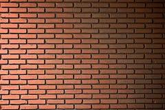 Пакостная померанцовая кирпичная стена Стоковые Изображения RF