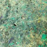 Пакостная предпосылка пола беспорядка краски Стоковая Фотография