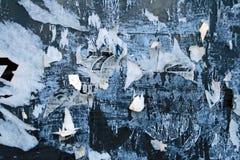 пакостная сорванная бумага Стоковая Фотография RF