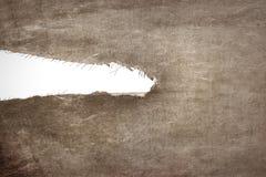 Пакостная сорванная ткань изолированная на белой предпосылке стоковые фото