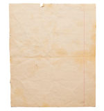 пакостная старая бумага Стоковые Изображения