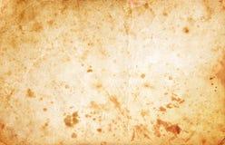 пакостная старая бумага Стоковая Фотография RF
