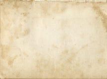 пакостная старая бумажная текстура Стоковые Изображения RF