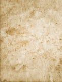 пакостная старая бумажная текстура Стоковое фото RF