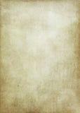 пакостная старая бумажная текстура Стоковые Фото