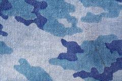 Пакостная старая картина камуфляжной формы Стоковая Фотография RF