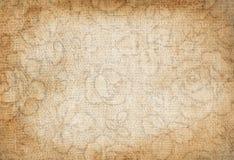 Старая холстина Стоковая Фотография RF