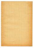 пакостная старая приданная квадратную форму бумага Стоковое фото RF