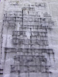 пакостная стена текстуры Стоковое Изображение