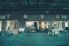 Пакостная строительная площадка Стоковое Фото