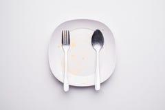 пакостная тарелка стоковое изображение rf