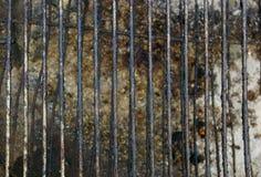 Пакостная текстура гриля Стоковое Изображение