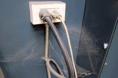 Пакостная электрическая доска переключателя Стоковые Фото