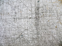 Пакостная scribbled таблица Стоковое Изображение RF