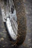 пакостное колесо мотоцикла Стоковая Фотография RF