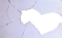 Пакостное разрушенное окно Стоковое Изображение RF