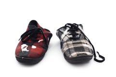 пакостные ботинки пар Стоковые Фото