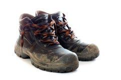 пакостные ботинки Стоковые Изображения