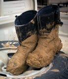 пакостные ботинки Стоковое Фото