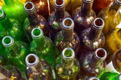 Пакостные бутылки Стоковое Фото