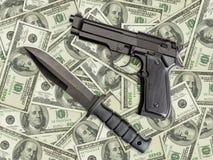 пакостные деньги Стоковые Фотографии RF